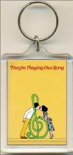 They're Playing Our Song. The Musical. Keyring / Bag Tag.