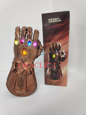 THANOS Infinity War LED Gauntlet incandescente luci Guanto AVENGERS COSPLAY Lattice