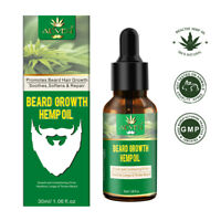 Premium HEMP Bead Oil Growth & Conditioning for Thicker, Fuller and Softer Bear