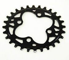 ABSOLUTE BLACK Mountain Bike CHAINRING Oval 64 BCD N/W 64mm 4-bolt 28T 1x10 1x11