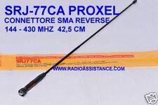 SRJ-77CA PROXEL  ANTENNA 144 /430 MHZ PER BAOFENG WOUXUN SMA-FEMMINA