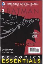 DC Comics Essentials BATMAN YEAR ONE SPECIAL EDITION #1 VF Jan 2015 Frank Miller