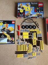 Rare 1984 Lego Technic 8040 pneumatic Universal Building Set Box + Instructions