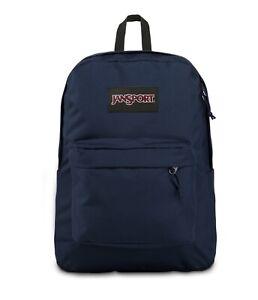 JanSport SuperBreak Plus Lap Top Backpack | JS0A4QUE003 | Navy