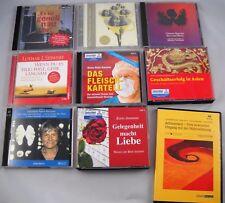 20 x CDs - 9 Hörbücher im Paket - Literatur Sachbuch Aufmerksamkeit Thriller
