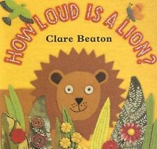 Barefoot Books How Loud Is a Lion by Stella Blackstone & Clare Beaton Board Book