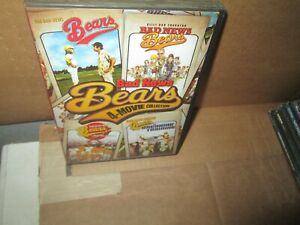 BAD NEWS BEARS 1 2 3 & 4 rare Quadrilogy dvd Set Baseball WALTER MATTHAU (4 disc