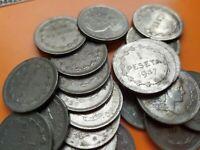 1 moneda x BILBAO 1 PESETA 1937 Gobierno de Euzkadi KM#1 Nickel EUSKADI España