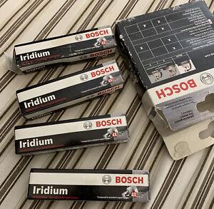 Bosch 9609 0242230533 set of 4 Fine Wire Iridium Spark Plugs fits Altima Sentra