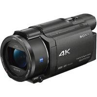 Sony FDR-AX53/B 4K Handycam Camcorder with Exmor R CMOS Sensor