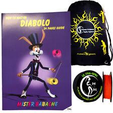 M. Babache Diabolo truc Livre, 10 m Diablo String + SAC-débutants Tricks Livre