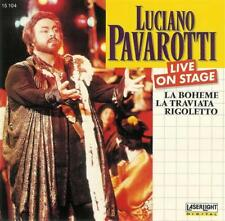Audio CD - Classical - Luciano Pavarotti: Live on Stage - Rigoletto Opera