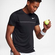Nike Nike Hof Herausforderer Crew Herren Hemd L schwarz Fitnessclub Freizeit NEU