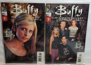 Buffy The Vampire Slayer Comics #43 to #46  Dark Horse  THE DEATH OF BUFFY
