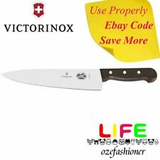 VICTORINOX COOKS CHEF'S KNIFE ROSEWOOD HANDLE 25CM 5.2000.25 Gift Boxed IS