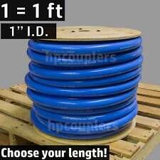 """1"""" ID FlexFab 5526 Blue Silicone Heater Hose 25mm 350F Radiator Coolant 1.00"""""""
