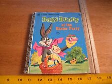 Little Golden Book 1972 Bugs Bunny at the Easter Party vintage childrens book
