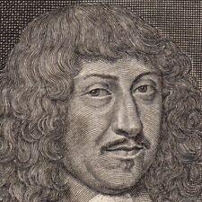 Portrait XVIIe Bernard de Foix de La Vallette Duc d'Espernon Prince Captal Buch