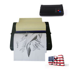 Black Tattoo Transfer Copier Printer Machine Thermal Stencil Paper Maker EU/US
