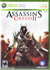 Assassin's Creed II XBOX 360 ~ XBOX LIVE Ubisoft HDTV 720p - 1080p ~ Low useage