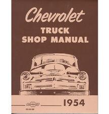 1954 CHEVY TRUCK SHOP MANUAL