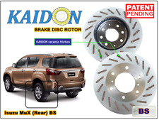 "Isuzu MuX brake disc rotor KAIDON (Rear) type ""BS"" / ""RS"" spec"
