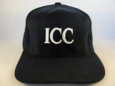 ICC Rail Section Vintage Flexfit Hat Cap Navy