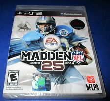 Madden NFL 25 Sony PlayStation 3 - PS3 - *Factory Sealed! *Free Shipping!