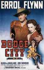 Metal Sign Dodge City 01 A4 12x8 Aluminium