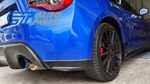S Pack Rear Lips Bumper Lips for 12-19 Subaru BRZ Toyota 86 GT GTS
