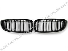 Shiny Gloss Black Front Kidney Grille Grill For 2015-2018 BMW F80 M3 / F82 M4