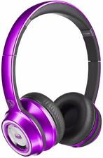 Monster Ntune HD On-Ear, ControlTalk Universal Wired Headphones Purple