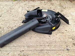 HAYTER 10/30 RIDE ON MOWER 30 INCHCOMPLETE  DECK WITH  BOTH CHUTES V G C