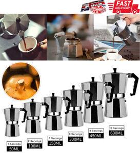 TOP MOKA Italian Coffee Pot Maker Filter Stove Top Mocha Espresso Coffee Pot