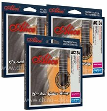 3 packs Superior CLASSICAL GUITAR STRINGS Normal Tension ANTI RUST tie on nylon