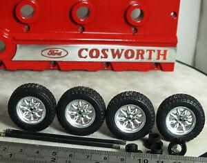 "1:18 IXO Ford Escort RS Rally ""SUPALITE Minilite WHEELS MODIFIED TUNING Mk1 Mk2"