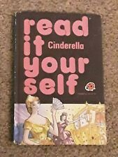 VINTAGE LADYBIRD BOOK. READ IT YOURSELF CINDERELLA . 777. LEVEL 4
