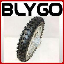 "2.50- 10"" Inch Rear Back Disc Brake Wheel Rim Knobby Tyre Tire PIT PRO Dirt Bike"