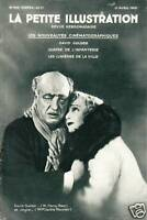 Revue ancienne cinéma la petite illustration les nouveautés cinématographiques