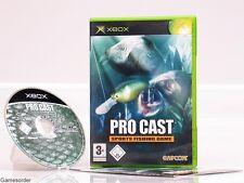 PRO CAST - SPORTS FISHING GAME  OVP/Anl.  +Xbox Spiel+
