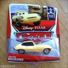 Disney PIXAR Cars VICTOR PAVEONE 2013 PALACE CHAOS THEME diecast 6/9 yellow Jag