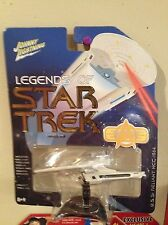 JOHNNY LIGHTNING LEGENDS OF STAR TREK U.S.S. RELIANT SHIP WITH STAND! NM!