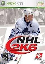 XBOX 360 NHL 2k6 Hockey su ghiaccio * tedesco *** NUOVISSIMA