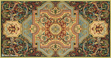 """39"""" DECORATIVE TAPESTRY TABLE RUNNER Medieval Ornament EUROPEAN ACCENT MAT"""