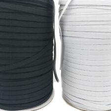 Cordon Élastique Plat 5 et 6 mm De Large Pour Couture Mercerie Longueur 4 Mètres