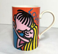 Happy Chappies Dunoon Coffee Cup Stoneware mug Anne Searle Design Scottland