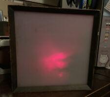 Vintage Lumia Lightolier kinetic light sculpture Earl Reiback Mid-century modern