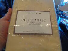 2 Pottery Barn Classic Pillowcases 400 TC sundrop  New
