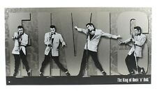 Elvis King of Rock n Roll Montage TIN SIGN metal poster home bar wall decor 1187