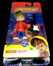 Alvin and the Chipmunks -  Rockin' 🎸Alvin Action Figure Fisher Price **NEW**